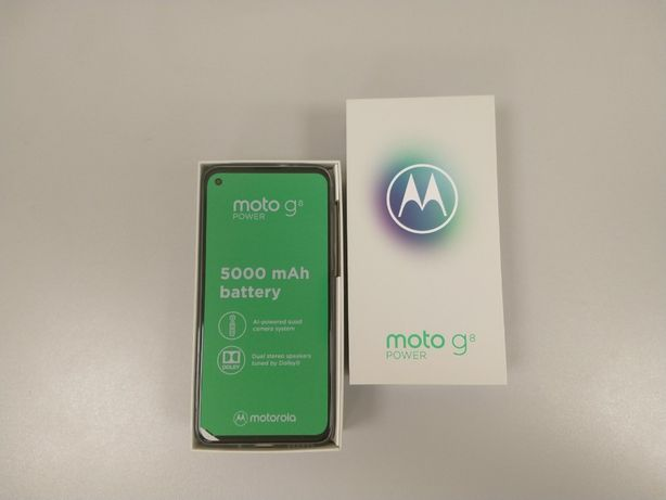 Motorola Moto G8 Power, 4/64Gb, Dual Sim, Гарантия!