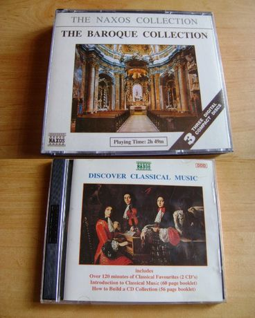 The baroque collection 3cd DISCOVER CLASSICAL MUSIC 2CD