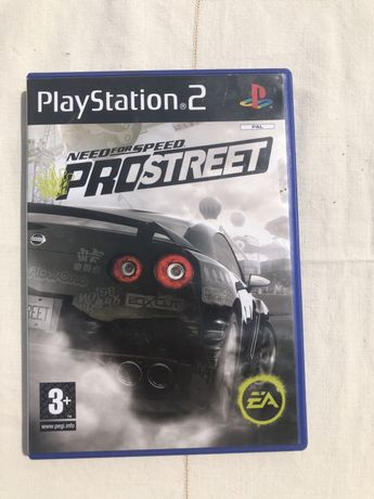 Need for speed pro street PS2 / Playstation 2