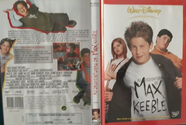 DVD As Desventuras de Max Keeble