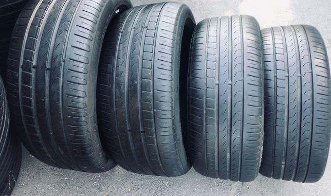 Pirelli 245/40r19 4 шт комплект лето резина шины б/у склад