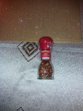 Młynek  chilli z solą mosrką kotanyi