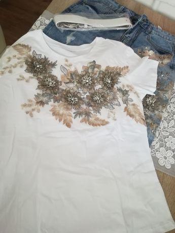 Komplet spodnie i bluzka