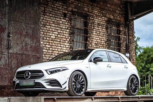 Mercedes A35 AMG - Wynajem Wypożyczalnia Samochodów Aut Poznań