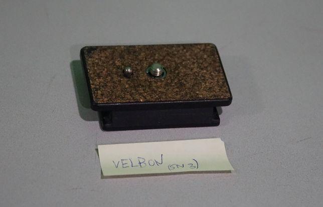 Velbon QB-5L szybkozłączka saneczki do statywu Videomate 438