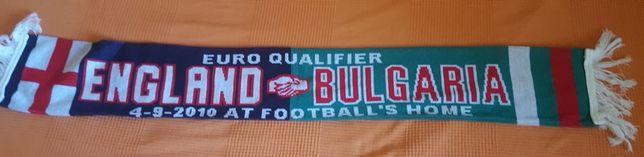 Szalik piłkarski England v Bulgaria 2010-wresień-04