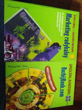 Dwie książki Marketing radykalny Rozbijbank.com Hill Rifkin Easton