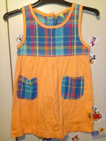Śliczna sukienka tunika 92 cm