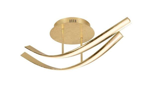 Elegancka lampa sufitowa żyrandol złota LED Linda Paul Neuhaus 6472-12