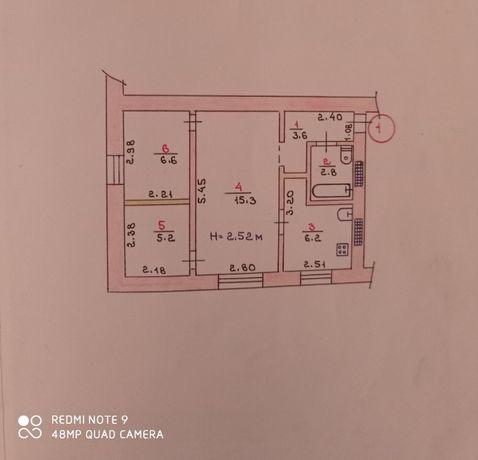 Продается 3 ком. квартира ул. Панаса Феденко (Азизбекова)