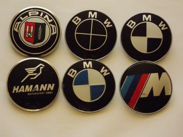 Колпачки заглушки BMW/M-power 68 мм 60 мм 56 мм для литых дисков