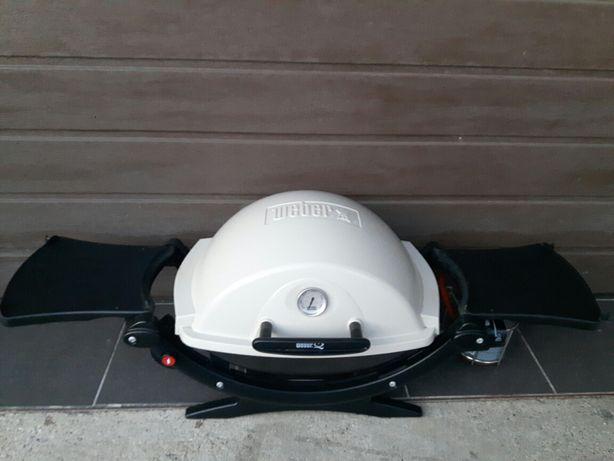 WEBER Q100 grill gazowy turystyczny kempingowy
