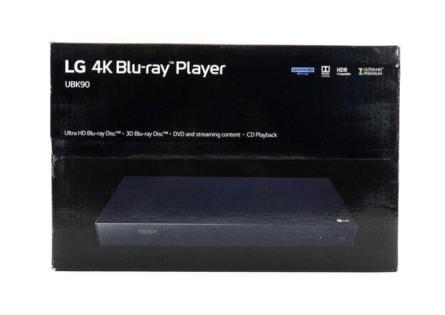 Odtwarzacz Blu-ray Ultra HD LG UBK90 HDMI USB; Gwarancja 25 mies. FV