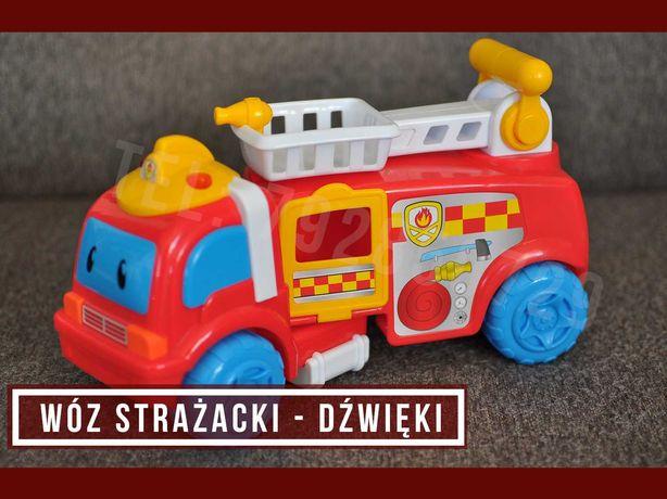 # Smiki - Wóz strażacki - dźwięki, światła - samolot, przyczepa - SMYK