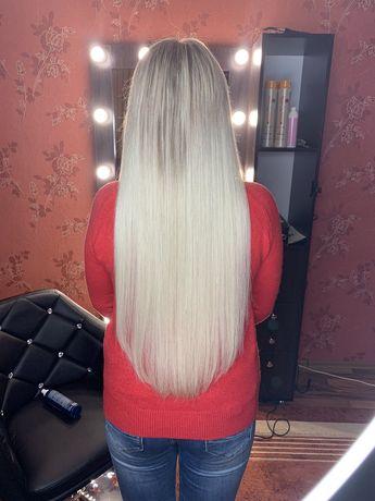 Наращивание волос безопасно и качественно!!!