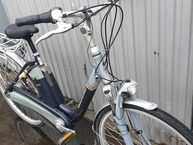 Rower elektryczny Gazelle silnik centralny Panasonic