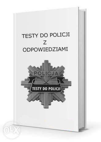 Testy do Policji - Legalne testy do policji od firmy
