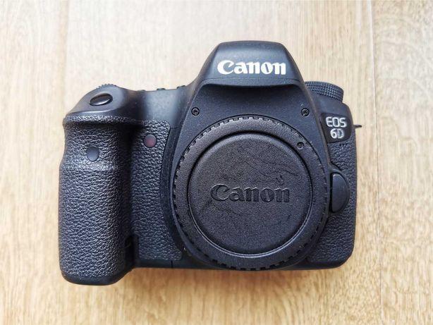Canon 6D - Aparat pełna klatka. Przebieg migawki tylko 11 300