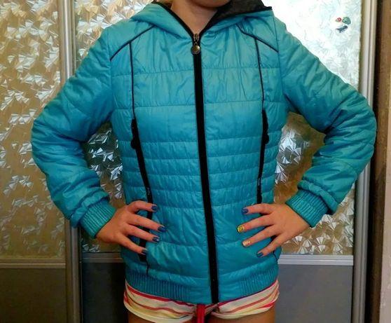 Куртка демисезонная на рост от 140 см, весенняя. осенняя, подросток