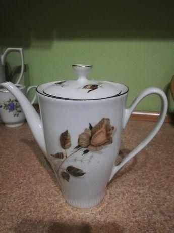Stary porcelanowy dzbanek Włocławek