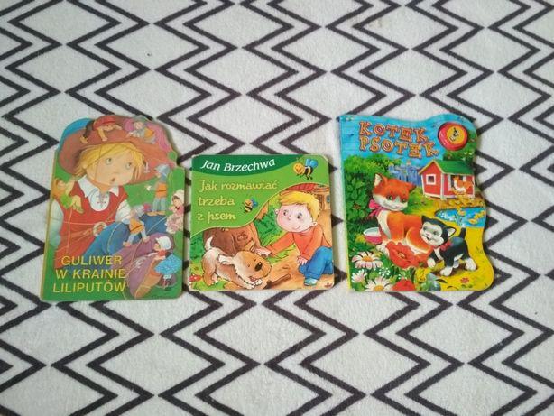 Zestaw książeczek Brzechwa Guliwer chłopiec dziewczynka świąteczna