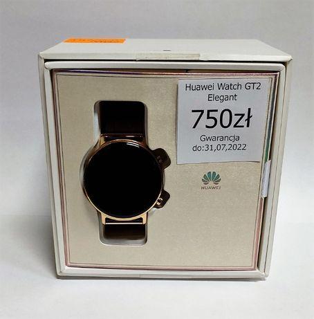 Smartwatch Huawei Watch GT 2 ELEGANT ! Jak NOWY Gwarancja !