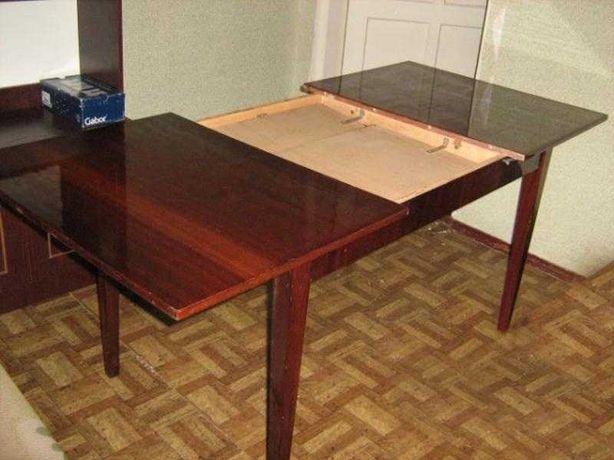 Продам стол деревянный,лакированный раздвижной по длине, времён СССР