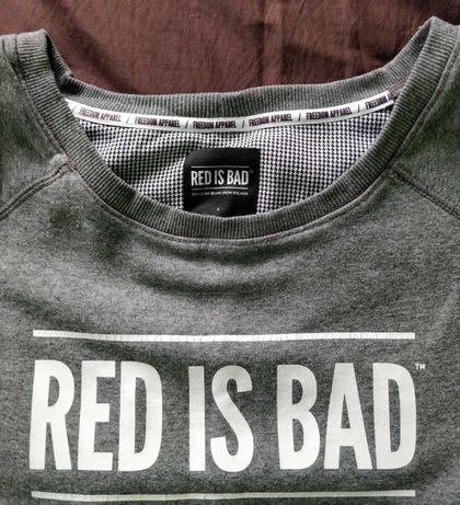 bluza młodzieżowa_damska bawełniana Red is Bad