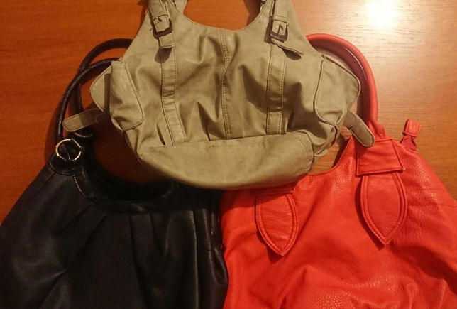 Damskie 3 torebki