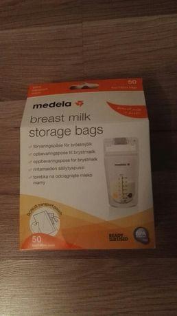 Medela torebki do przechowywania pokarmu 50 sztuk - NOWE!