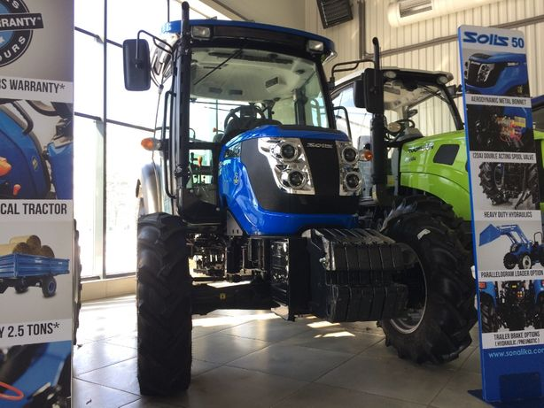 Трактор Solis (Солис) 50 RX Гарантiя 2 роки та безкоштовна доставка!