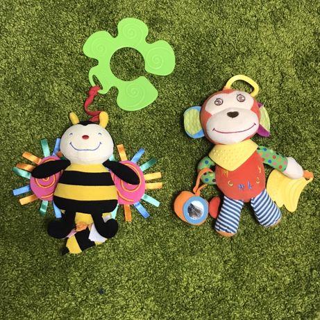 Подвесные игрушки для кроватки/коляски от 6 месяцев
