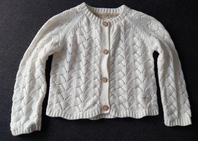 Newbie sweterek śmietankowy roz 74 stan idealny