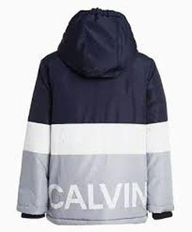 Новая куртка, курточка,пуховик calvin klein м 10-12 лет