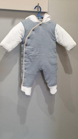 Kombinezon, czapka oraz rękawiczki  dla niemowlaka 3-6m (do 8kg)
