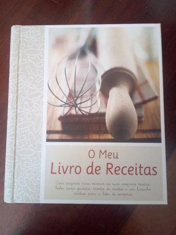 O meu livro de receitas