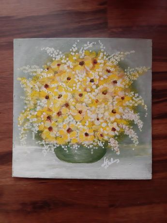 Obrazek 25 cm x 25 cm kwiaty