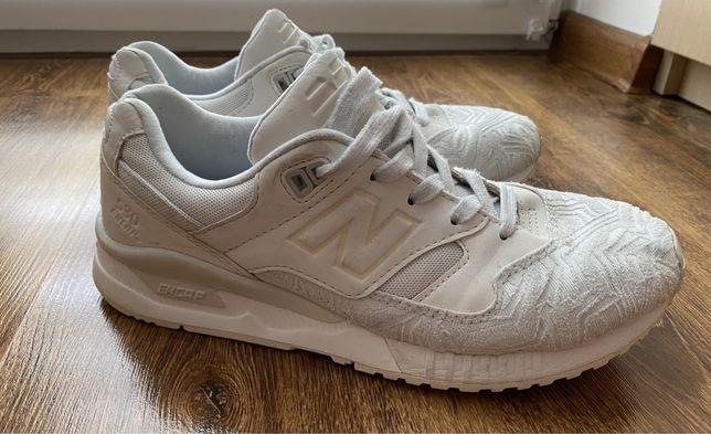 Damskie białe trampki NEW BALANCE, rozmiar 39