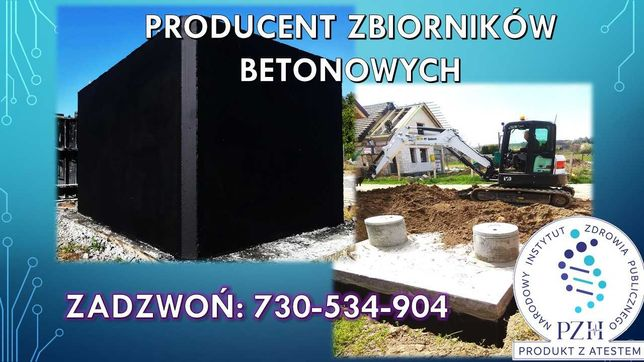 Szamba/Szambo betonowe Zbiorniki/Zbiornik betonowy Mińsk Mazowiecki