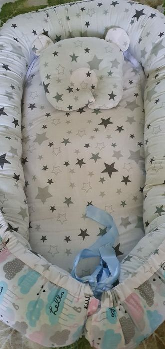 Продам кокан для малыша очень удобная вещь в первые месяцы Харьков - изображение 1