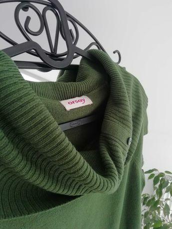 Orsay, sweter z kolnierzem