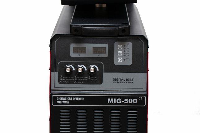 Migomat spawarka inwertorowa MIG 500 warsztatowa