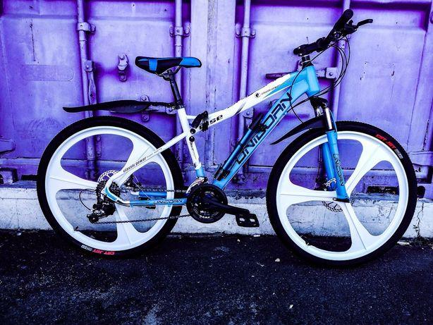 Велосипед на литых дисках 26 рама 17 подростковый