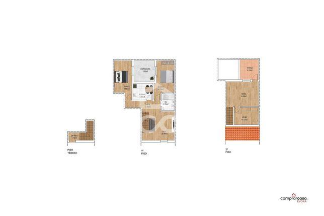Moradia unifamiliar T2+1, com sótão, terraço e garagem | Quinta da Boa