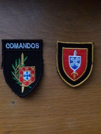 Patchs e crachat de unidades Exército e da Força Aérea