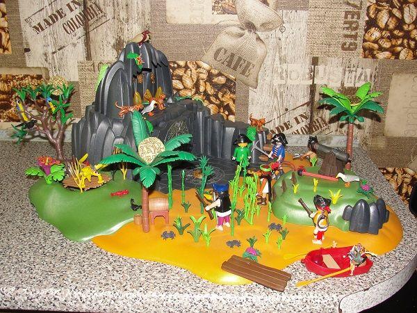 Playmobil wyspa piratów