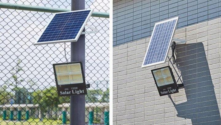 Lampa solarna 60w z panel fotowoltaiczny Będzin - image 1