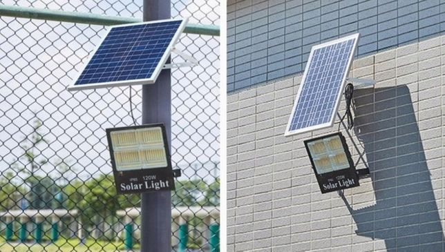 Lampa solarna 60w z panel fotowoltaiczny