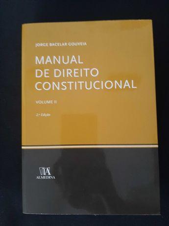 Livro Curso Direito - Manual Direito Constitucional (oferta portes)