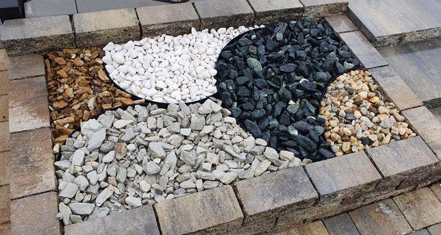 Kruszywa i kamienie ozdobne, Biała Marianna, grys granitowy, bazaltowy